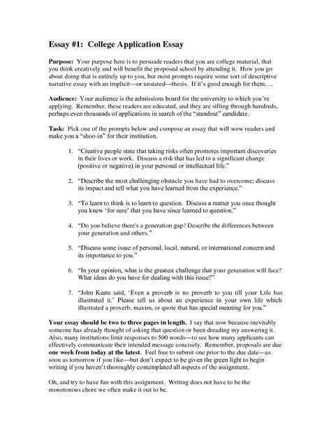 Successful College Essay Examples From Top Universities — Shemmassian Academic Consulting